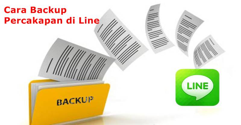 Backup Percakapan di Line