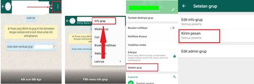 Cara Bungkam Anggota Group WhatsApp