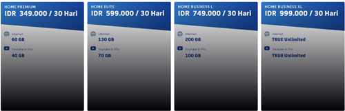 daftar harga XL Home Wireless